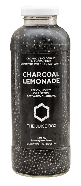 how to make charcoal lemonade