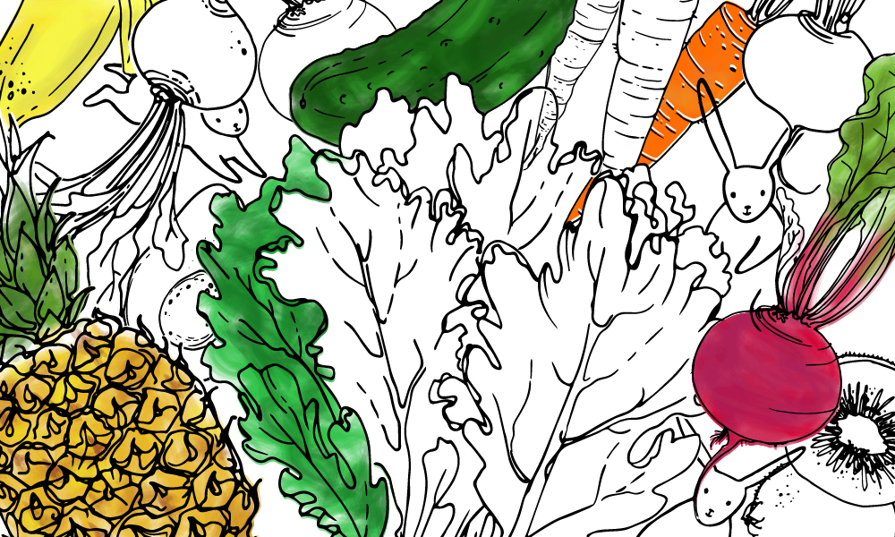 Enter Our Kids Colouring Contest! - Be Fresh Blog