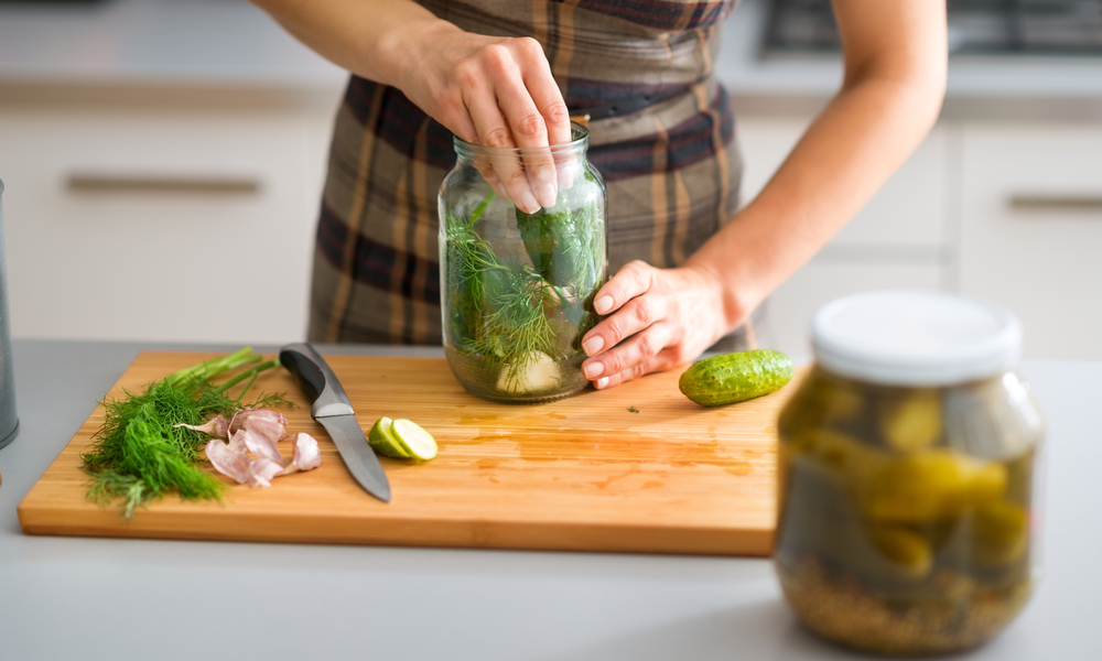 Preserve The Harvest: Fermented Brined Pickles Workshop