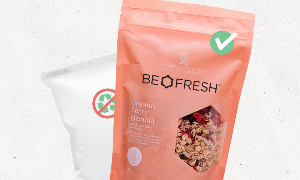 Be Fresh's Pink Bag Takeback Program Re-Imagines Recycling